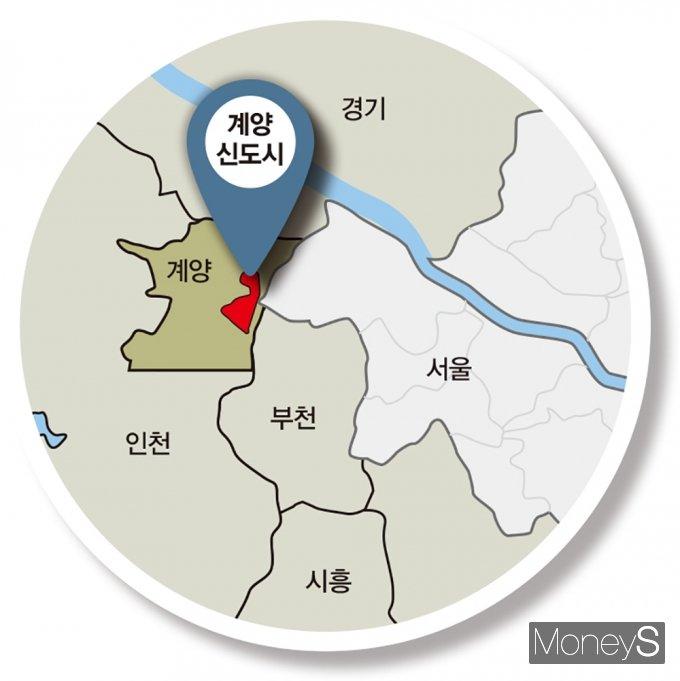 인천 계양신도시 위치. /그래픽=김은옥 기자