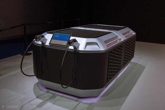 수소로 만든 전기, 전기 레이싱카 충전한다… 현대차그룹, ETCR에 발전시스템 공급