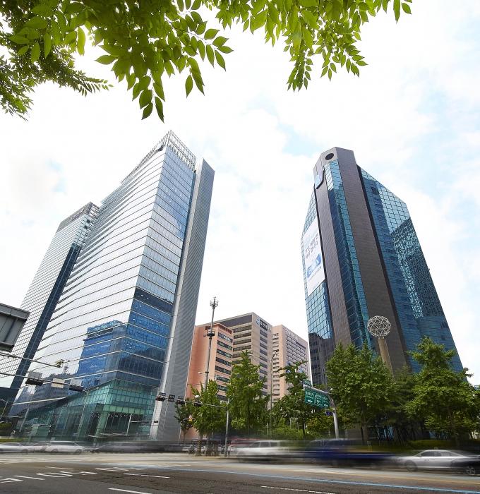 서울 중구 을지로에 위치한 기업은행 본점 전경./사진=기업은행