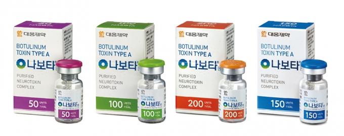 대웅제약은 메로페넴 미국 진출 경험을 토대로 자체 개발 보툴리눔톡신 '나보타'(미국 상품명 주보, 2019년2월)가 FDA 승인에 성공했다./사진=대웅제약