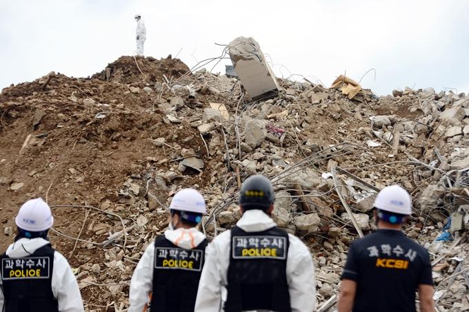 광주 건물붕괴 참사 희생자 사망원인 '다발성 손상'