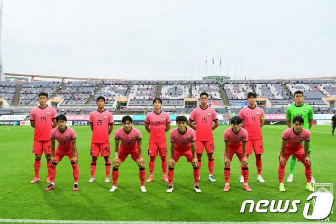 [사진] 가나전 앞둔 U-24 올림픽 축구대표팀