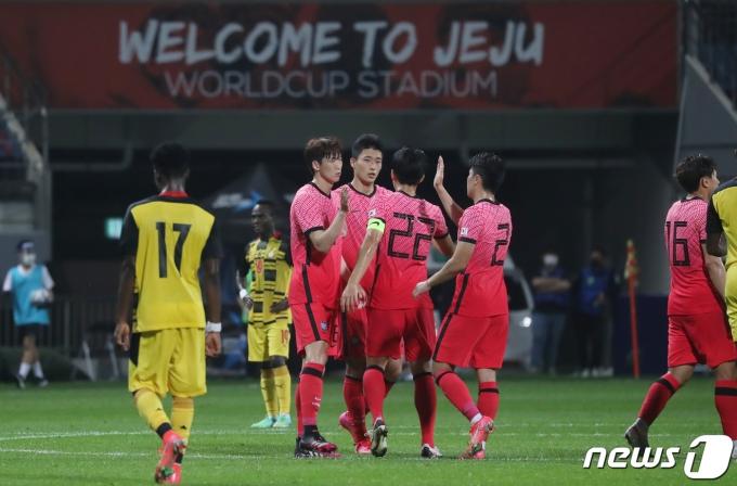 [사진] 3-1로 가나전 승리한 대한민국