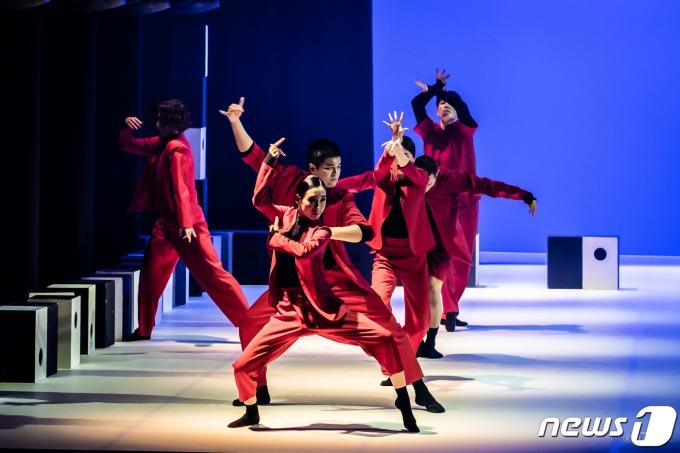 국립무용단 '가무악칠채'(Hanfilm,MODAFE)© 뉴스1