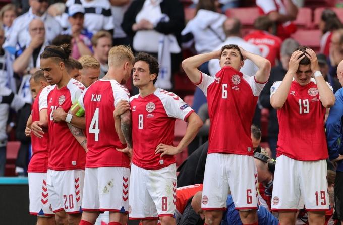 경기 중 쓰러졌던 덴마크 축구대표 크리스티안 에릭센(29, 인터 밀란)이 더 이상 선수생활을 하지 못할 수도 있다는 전문가 의견이 나왔다./사진=로이터