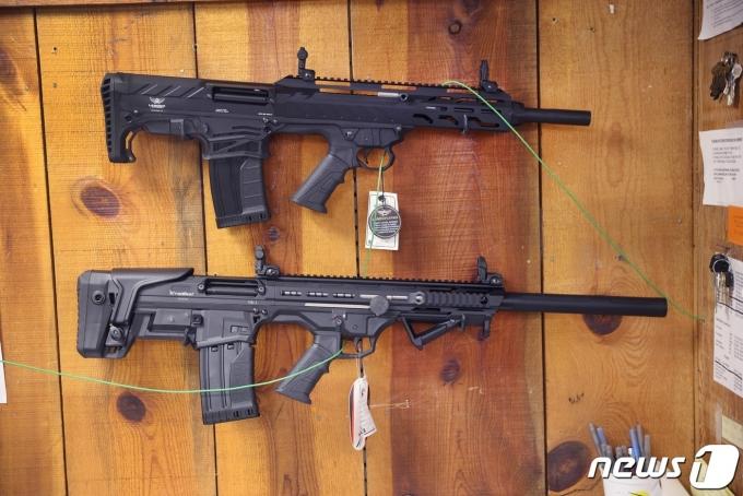 미국에서 올 들어 267건의 총기 난사 사건이 벌어진 것으로 집계됐다. © AFP=뉴스1