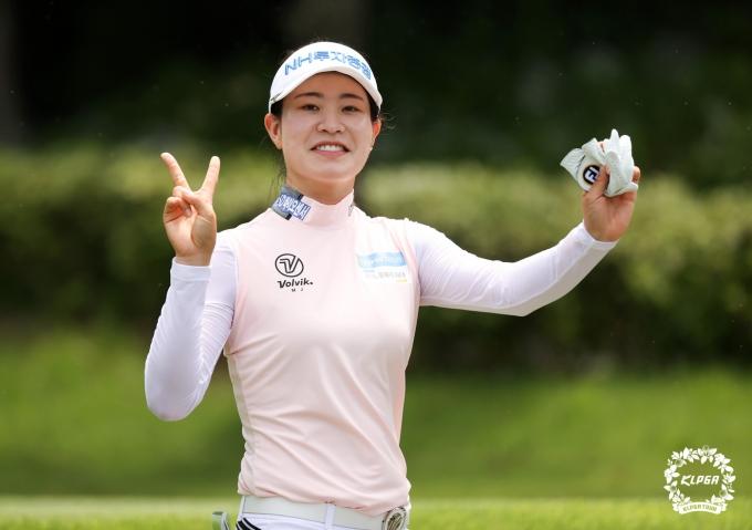 [사진] 박민지 '승리의 브이'
