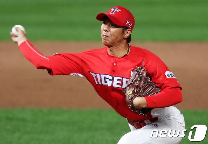 임창용 전 프로야구 선수. 2017.9.12/뉴스1 © News1 오대일 기자
