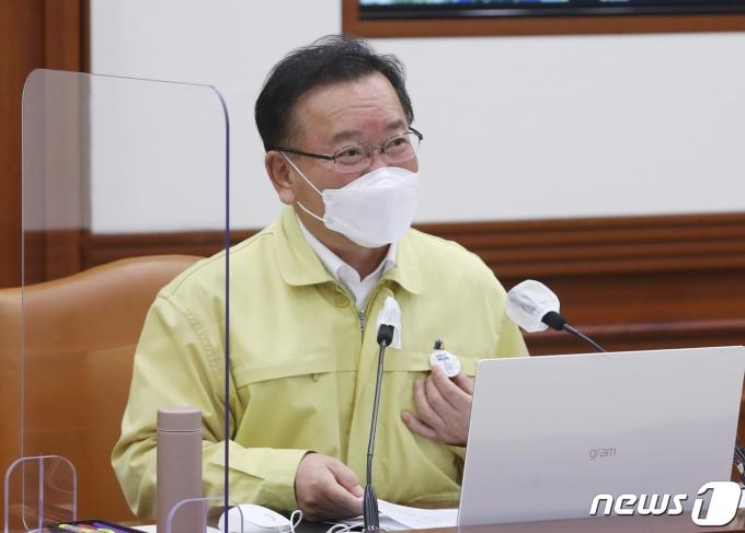 김부겸 국무총리. /뉴스1 © News1 ,송원영 기자