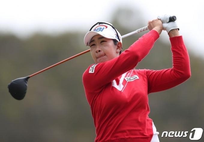 미국여자프로골프(LPGA)투어 메디힐 챔피언십 공동 4위에 오른 김아림. © AFP=뉴스1