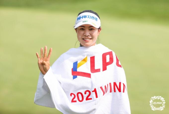 [사진] 박민지 '승리의 미소'