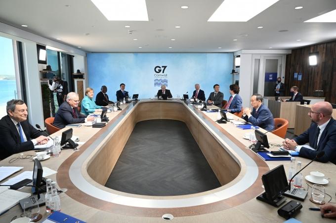 '트럼프와 다르다'… 조 바이든, G7 동맹에 '중국 견제' 강조