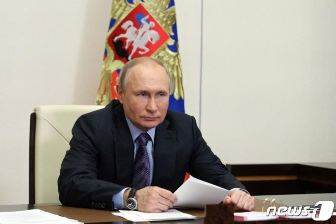 블라디미르 푸틴 러시아 대통령. © AFP=뉴스1