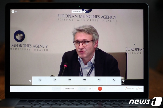 유럽의약품청(EMA)의 백신 전략을 총괄하는 마르코 카발레리. © AFP=뉴스1