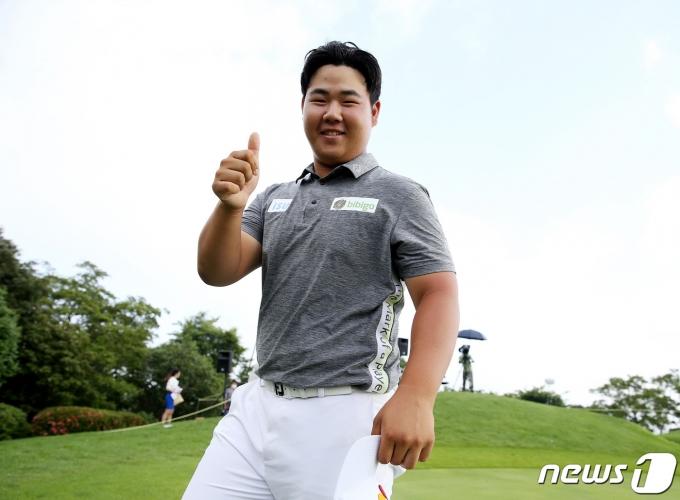 [사진] 우승한 김주형