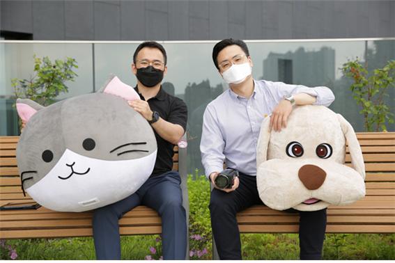 삼성화재 유튜브채널을 담당하는 커뮤니케이션팀./사진=삼성화재