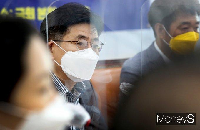 [머니S포토] 박원선 정의당 대선준비단장의 발언