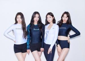 브레이브걸스, 수영복 화보 공개… 썸머퀸으로 역주행