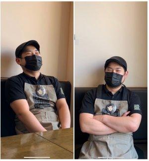 """무공돈까스 정진현 익산영등점 점주. """"직접 먹어보고 느껴보고 창업 결심했어요"""""""