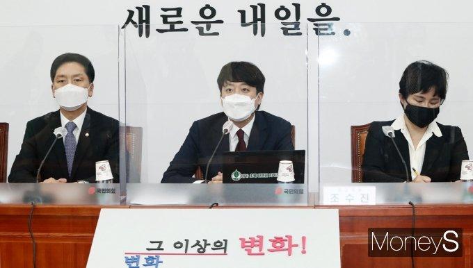 """[머니S포토] 국힘 이준석 """"따릉이 탄 것, 이렇게 큰 이슈 될 줄 몰랐다"""""""