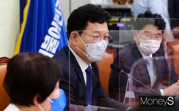 [머니S포토] 민주당 백신 특위, 송영길 대표의 모두발언
