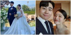 """벤, 결혼식 사진 공개 """"행복하게 잘 살겠습니다"""""""