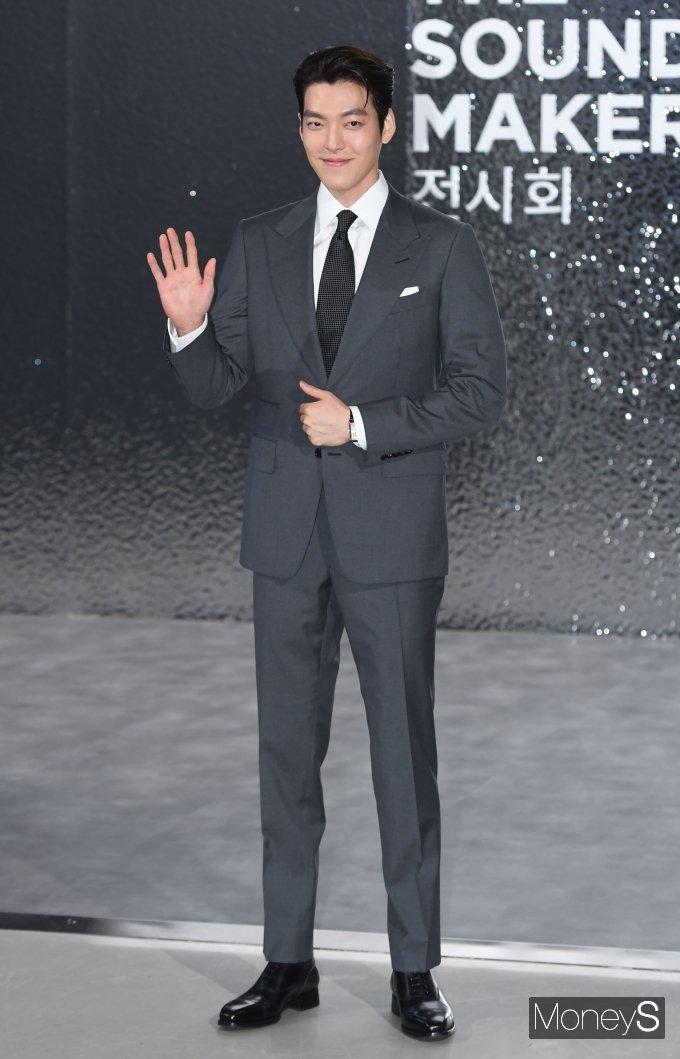 [머니S포토] 김우빈 '오랜만에 공식석상'