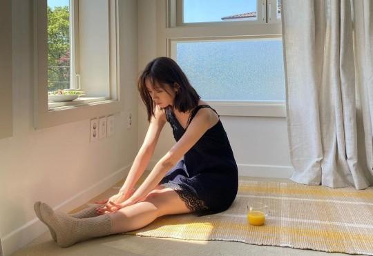 배우 혜리가 청순 미모를 뽐냈다. /사진=혜리 인스타그램