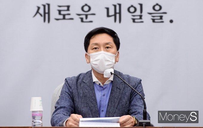 """[머니S포토] 김기현 """"與 독식하고 있는 위법 상태, 즉시 시정해야"""""""