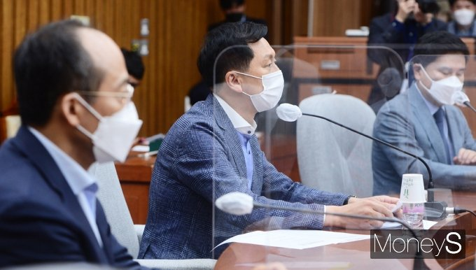 """[머니S포토] 김기현 """"슈퍼 갑질·반칙 등 반성없이 즐기다간 국민심판 받을 날 곧 올 것"""""""
