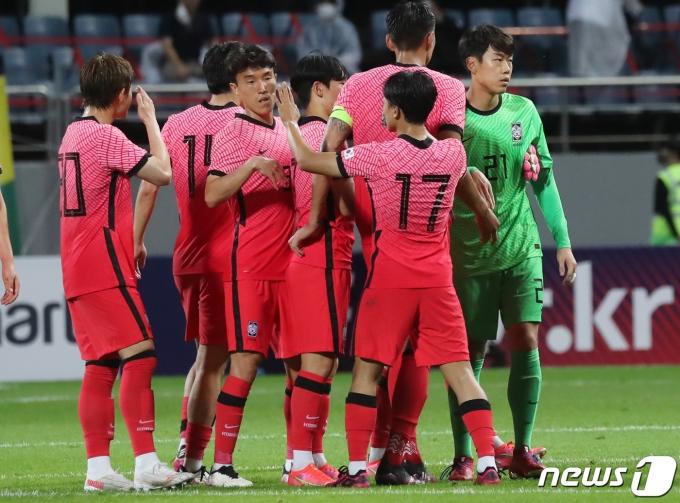 [사진] 가나전 승리 거둔 대한민국