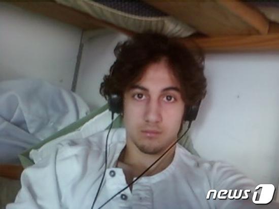 보스턴 마라톤 폭탄 테러범 조하르 차르네프. © 로이터=뉴스1