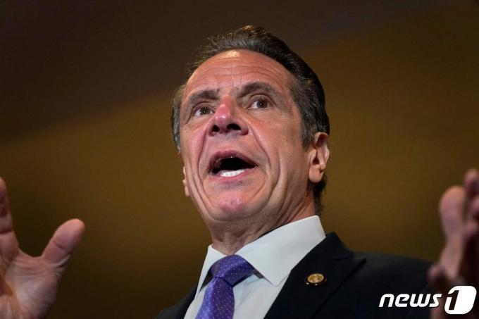 앤드루 쿠오모 미국 뉴욕 주지사. © AFP=뉴스1