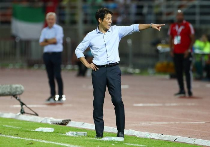 니시노 아키라 태국 감독은 지난 2019년부터 태국 국가대표팀과 23세 이하 대표팀을 이끌고 있지만 최근 경질 위기를 맞고 있다. /사진=로이터