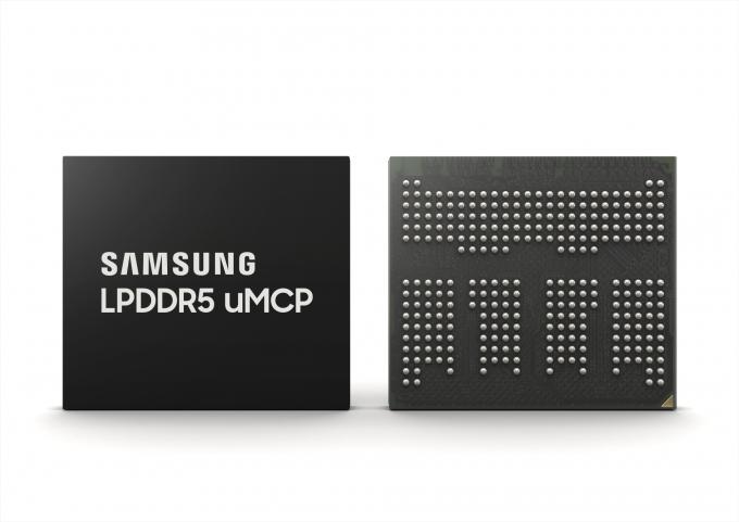 최근 삼성전자가 글로벌 5G 스마트폰 수요에 맞춰 선보인 멀티칩 패키지 'LPDDR5 uMCP'. /사진제공=삼성전자