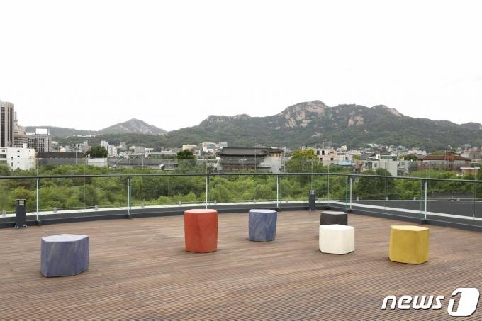 김익영 '오각의 합주'© 뉴스1