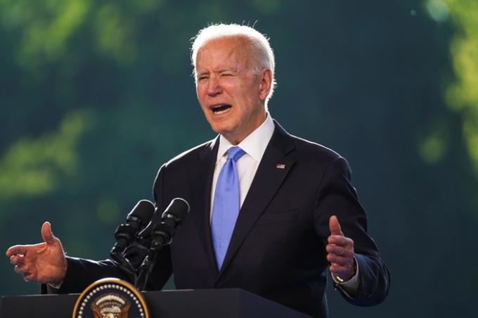 조 바이든 미국 대통령이 블라디미르 푸틴 러시아 대통령과의 지난 16일(현지시각) 정상 회담을 마치고 러시아와의 관계가 개선될 것이라고 밝혔다. /사진=로이터
