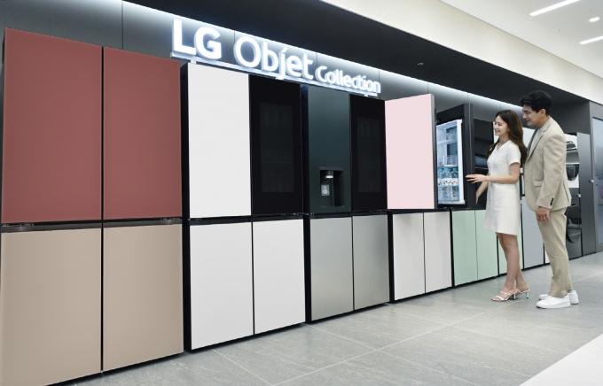 LG전자가 최근 더블매직스페이스, 일반 도어 디자인을 적용한 신제품을 출시했다. / 사진=LG전자
