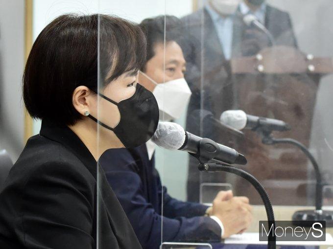 """[머니S포토] 권익위 전현희 """"서울시와 반부패 공유 등 협력 강화"""""""