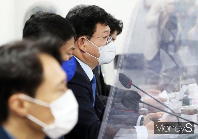 [머니S포토] 광주 건축물 붕괴사고 대책, 송영길 대표의 발언