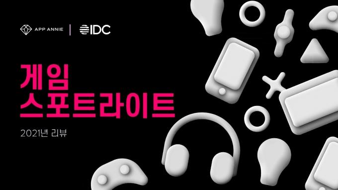 시장조사업체 앱애니와 IDC가 글로벌 게임 시장의 트렌드와 변화를 분석한 보고서 '게임 스포트라이트 2021 리뷰'를 발표했다. /사진제공=앱애니