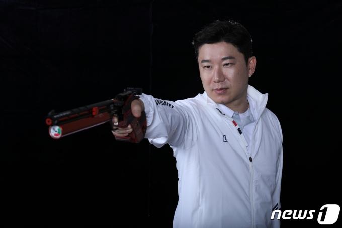 한국 사격의 간판 스타 진종오. (대한사격연맹 제공) © 뉴스1