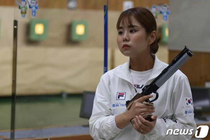 사격 대표팀 김보미. (대한사격연맹 제공) © 뉴스1