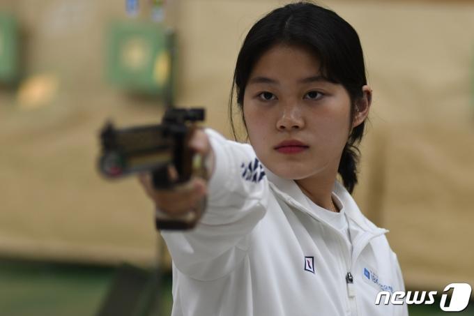 사격 대표팀 추가은. (대한사격연맹 제공) © 뉴스1