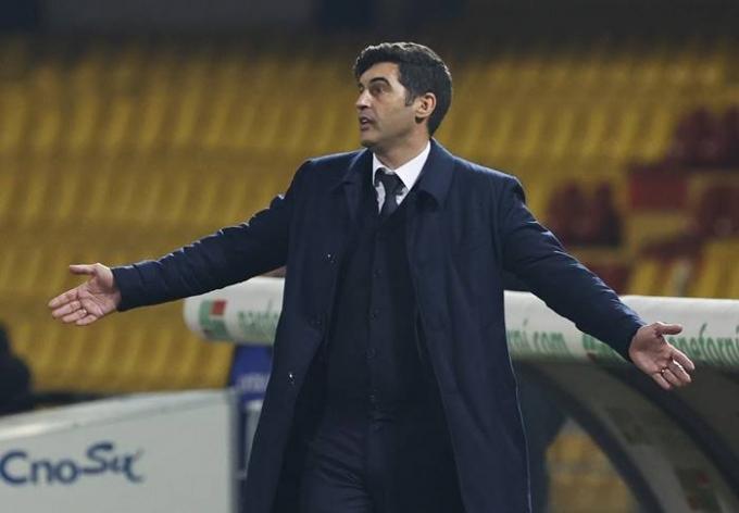 토트넘이 새 감독으로 부임할 예정이던 파울루 폰세카 감독과 협상을 일방적으로 중단하며 논란을 빚고 있다. /사진=로이터