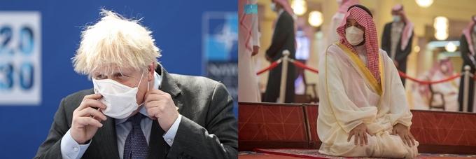 英총리가 사랑한 '한국산 마스크'…사우디 왕세자, 품절시켜