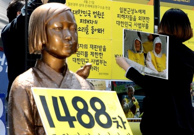 일본으로부터 소송비용을 추심할 수 없다는 법원 결정에 위안부 피해자들이 항고했으나 받아들여지지 않았다. /사진=뉴스1