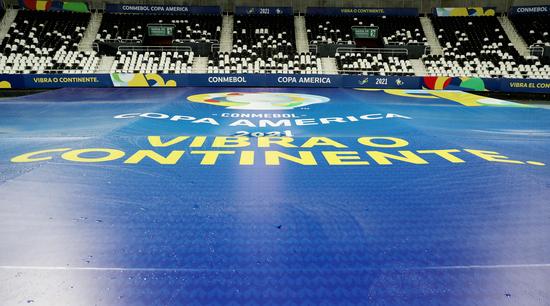2020 코파 아메리카 경기가 열리는 브라질 리우 데 자네이루에 위치한 에스타디우 닐톤 산토스 경기장. /사진=로이터