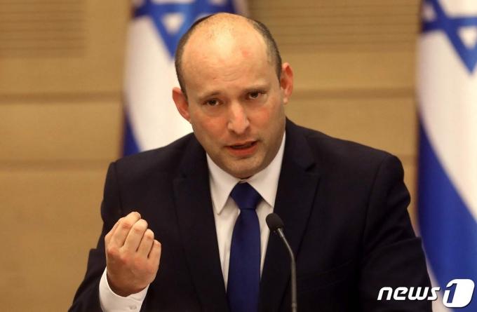나프탈리 베넷 이스라엘 신임 총리. © AFP=뉴스1