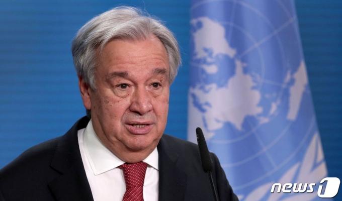 안토니우 구테흐스 유엔 사무총장. © AFP=뉴스1